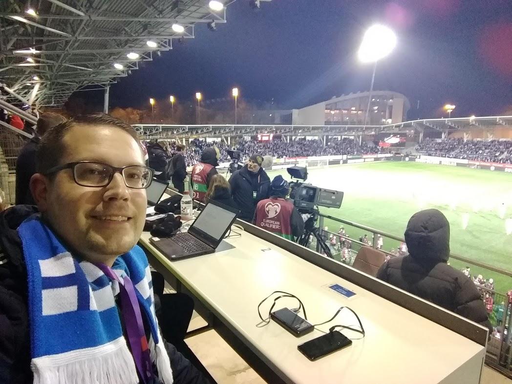 Finnland - Liechtenstein 3:0, Telia 5G Areena Helsinki