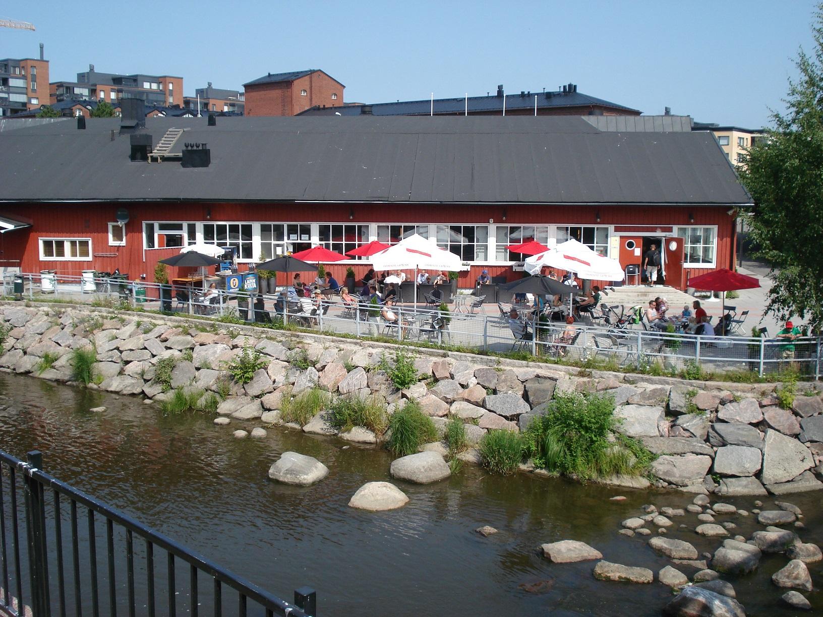 Café in Helsinki Vanhakaupunki