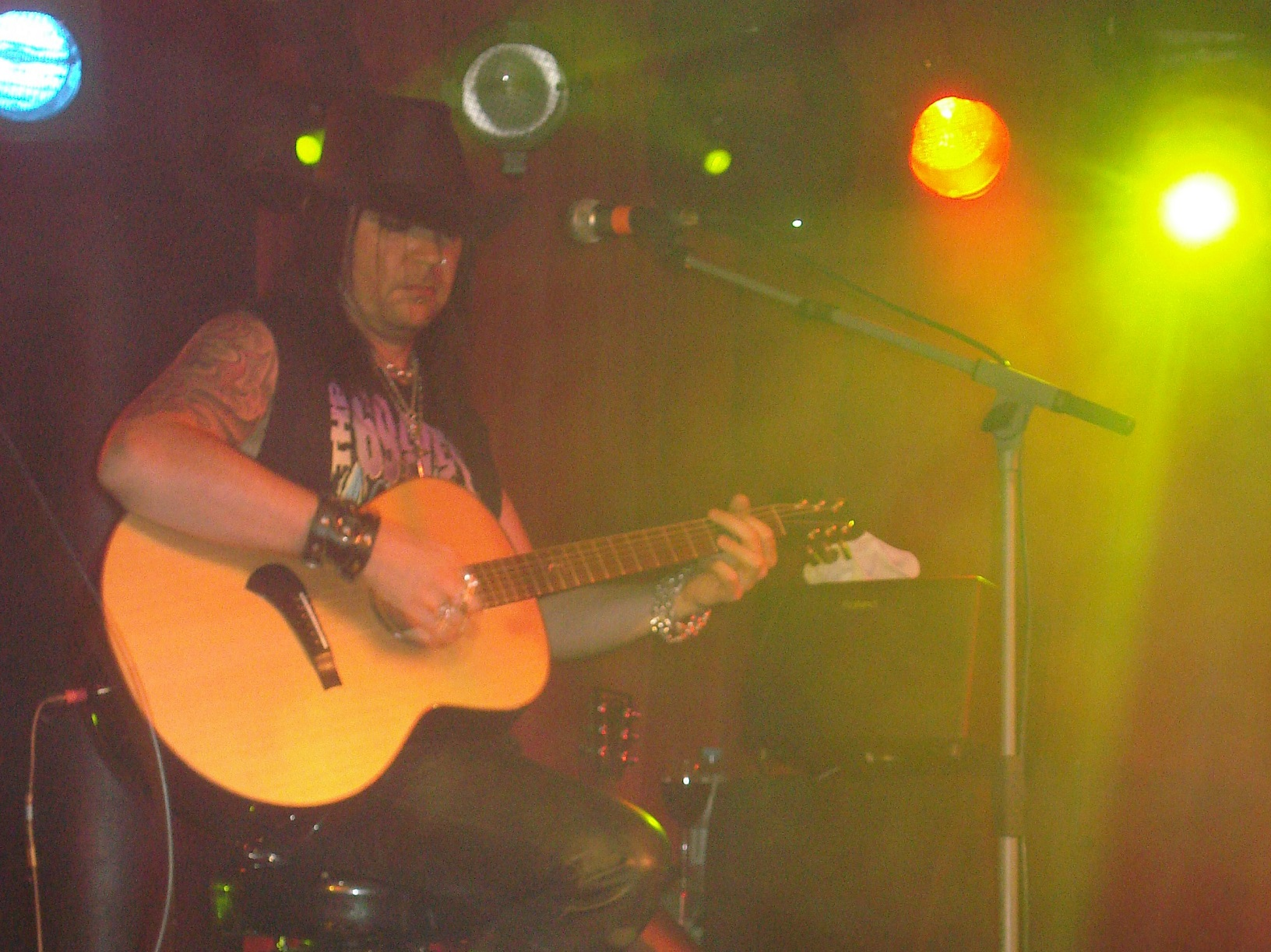 Bazie (The 69 Eyes) live in Turku, Finnland