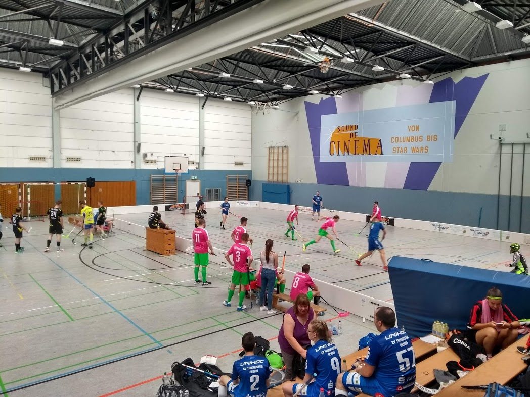 Floorball Spaßturnier in Erlensee