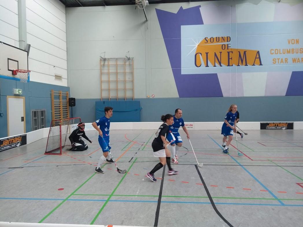 Floorball-Spieler des SV Taunusstein-Neuhof
