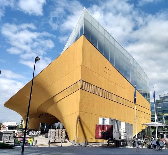 Zentralbibliothek Oodi in Helsinki