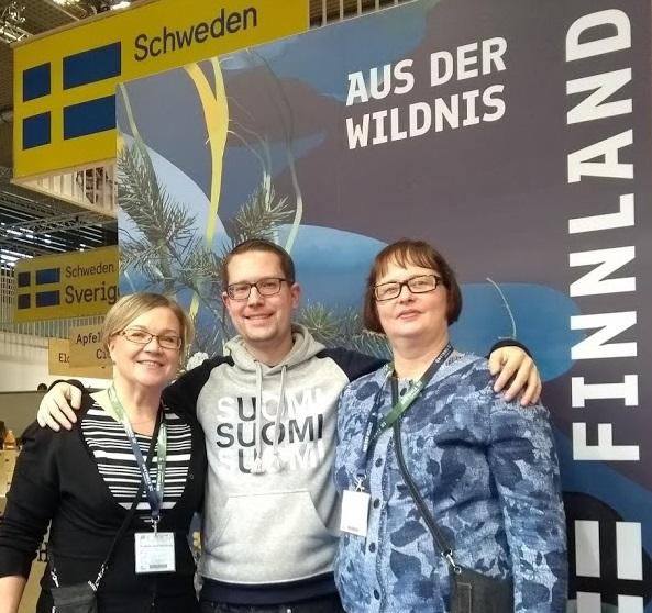 Päivi Karhunen (Miksei Mikkeli), René Schwarz (FinnTouch), Kirsi Mättölä (Miksei Mikkeli)