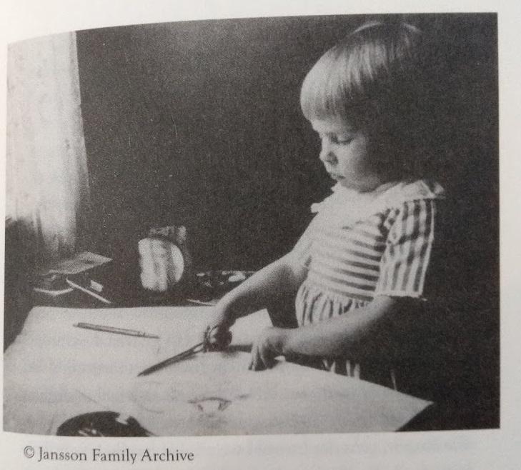 Bild aus dem Familienarchiv von den Janssons