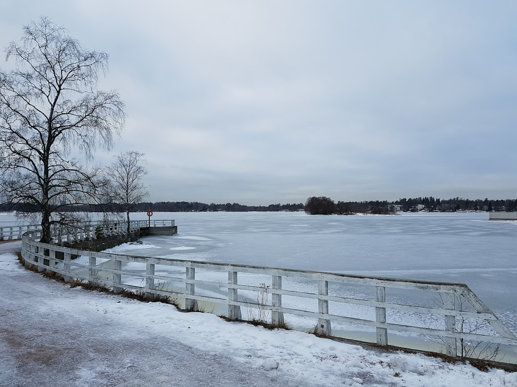 Winter in Helsinki