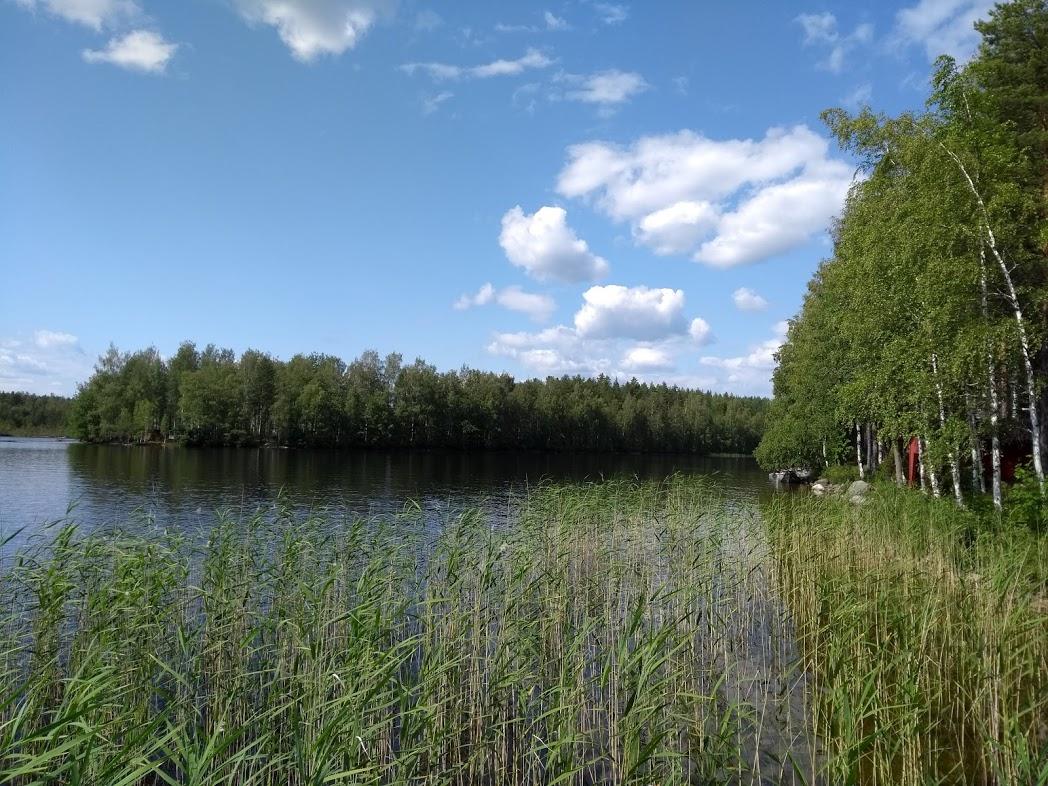 Mökki am finnischen See