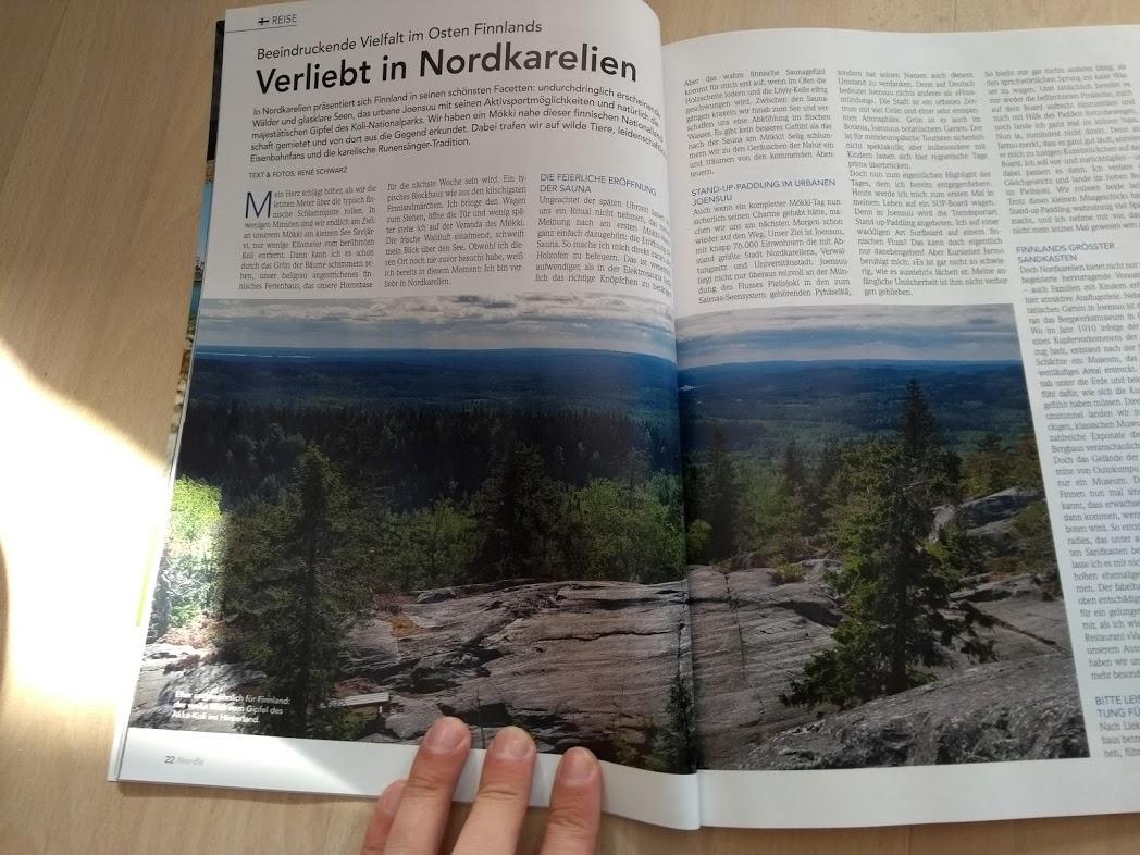 Artikel von René Schwarz im Nordis-Magazin