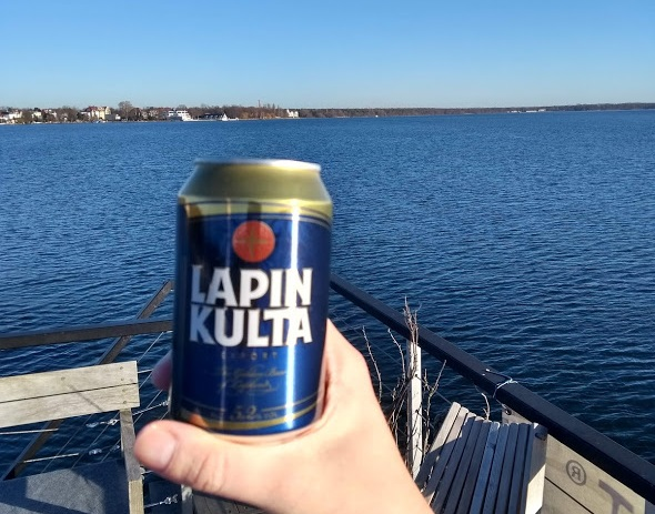 Dose finnisches Bier - Lapin Kulta