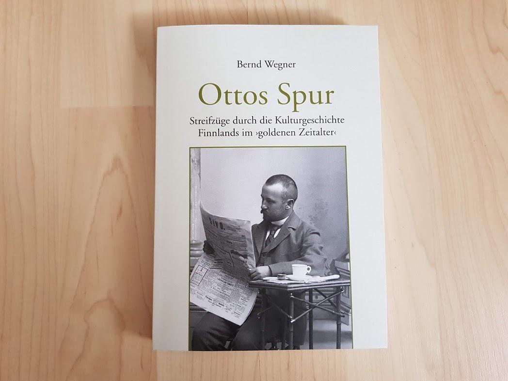 "Buchcover Bernd Wegner ""Ottos Spur"""