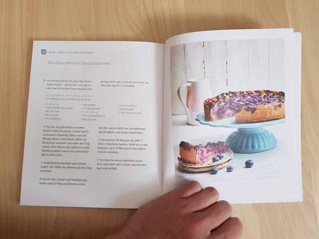 """Einblick ins Buch Nathalie Klüver """"Das Familienkochbuch für nicht perfekte Mütter"""""""