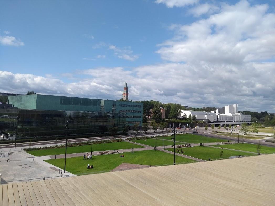 Musiikkitalo und Finlandia-Halle Helsinki