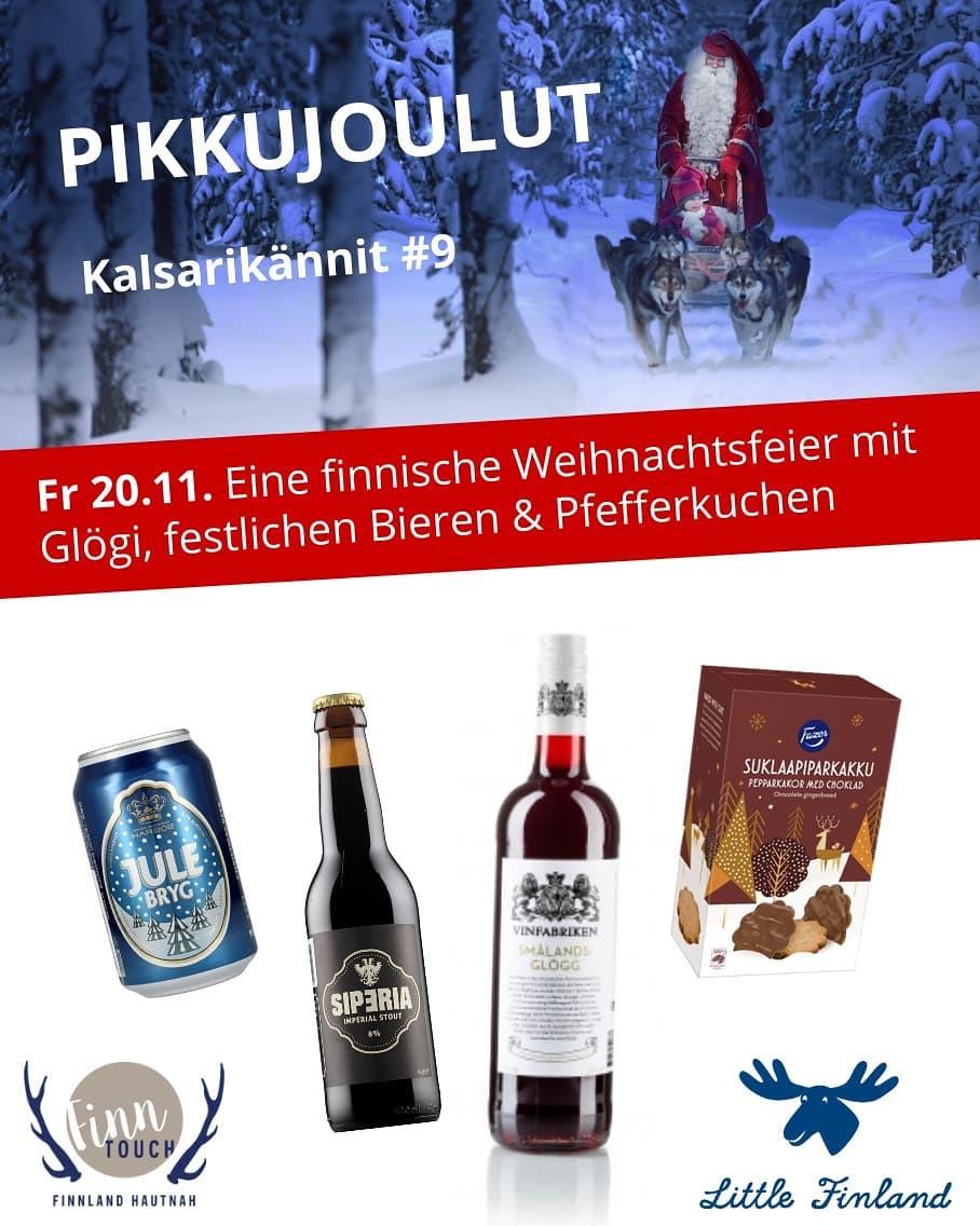 Finnische Weihnachtsfeier im Livestream