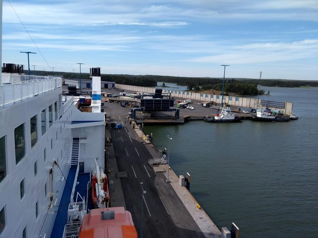 Hafen von Vuosaari, Helsinki