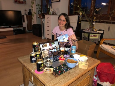 Kalsarikännit Gewinnspiel Gewinnerin Simone
