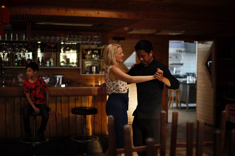 Sirkka und Cheng tanzen Tango