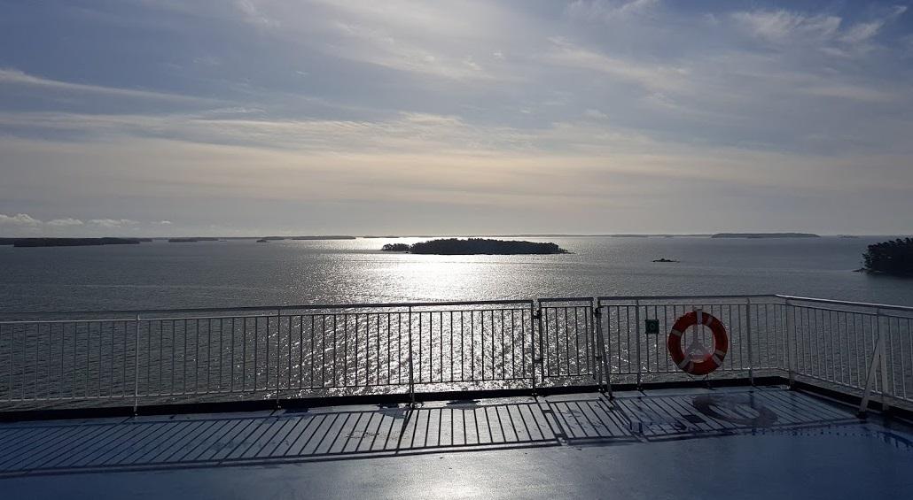 Finnische Inseln vor Helsinki