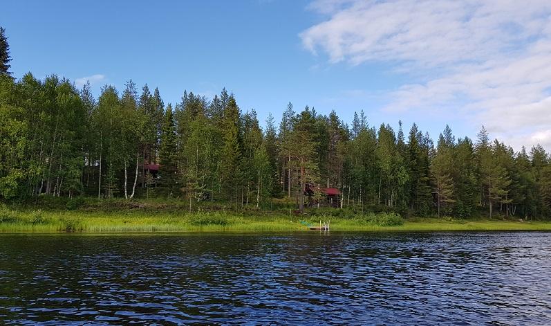 Finnfloat.live Mökki in Luosto