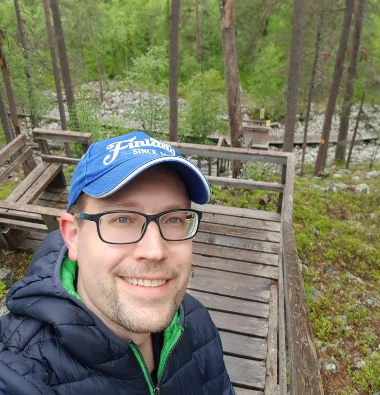 Treppen im Nationalpark Pyhä-Luosto