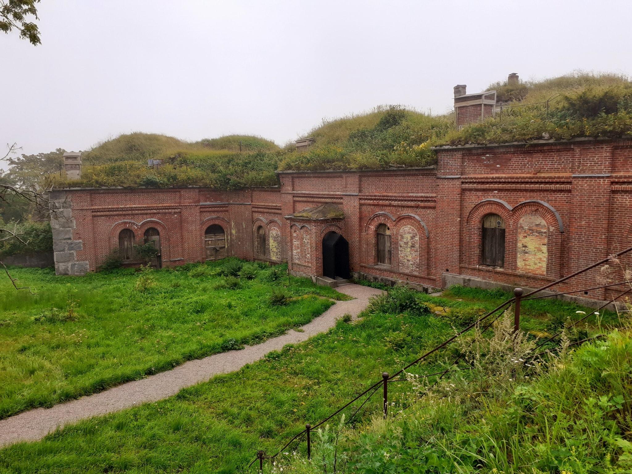 Alexanders Festung auf Vallisaari