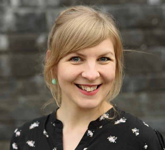 die finnische Kinderbuchautorin Heidi Viherjuuri