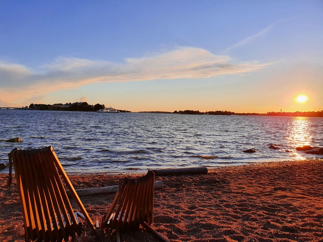 Abendsonne auf Lonna