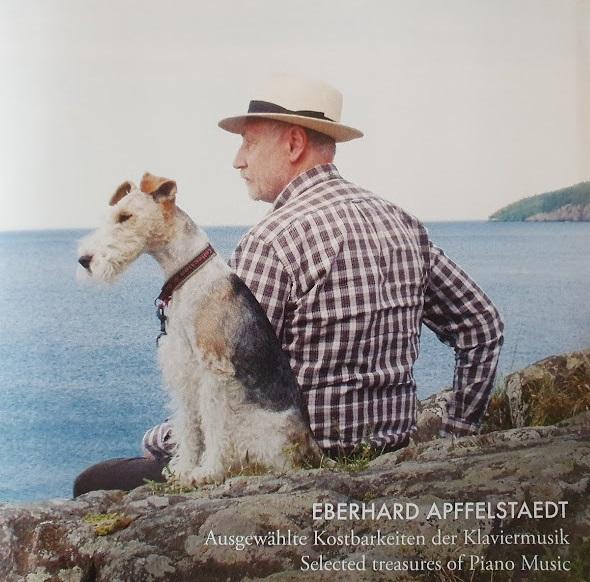 CD-Cover Eberhard Apffelstaedt - Ausgewählte Kostbarkeiten der Klaviermusik