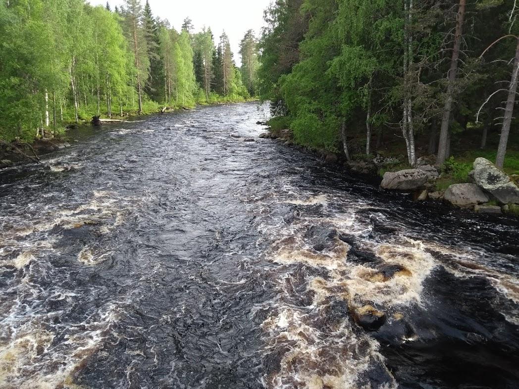 Stromschnellen in Karelien