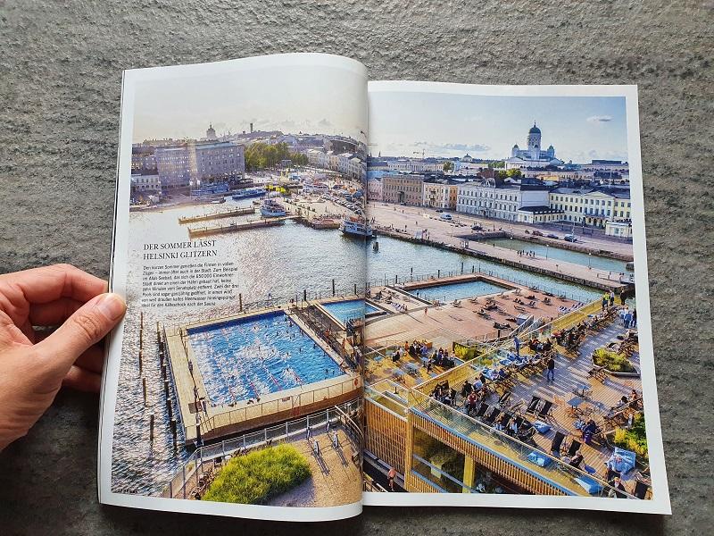 Merian Finnland 2020 - Seite über Helsinki