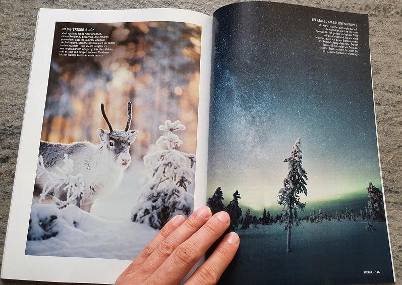 Merian Finnland 2020 - Lappland-Bilder