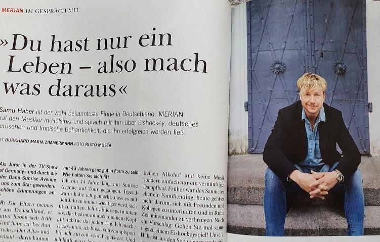 Merian Finnland - Interview mit Samu Haber