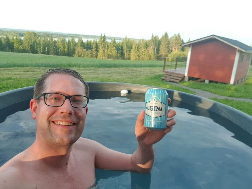 Finnisches Badefass von Kirami