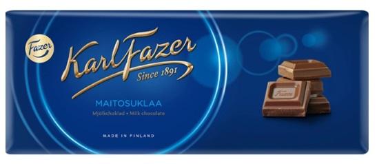 Finnische Schokolade - Fazerin Sininen