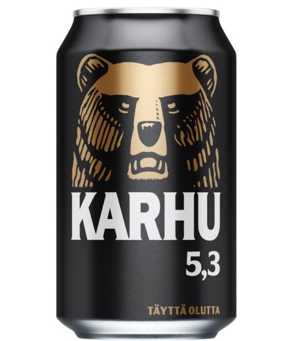 Karhu Bier aus Finnland