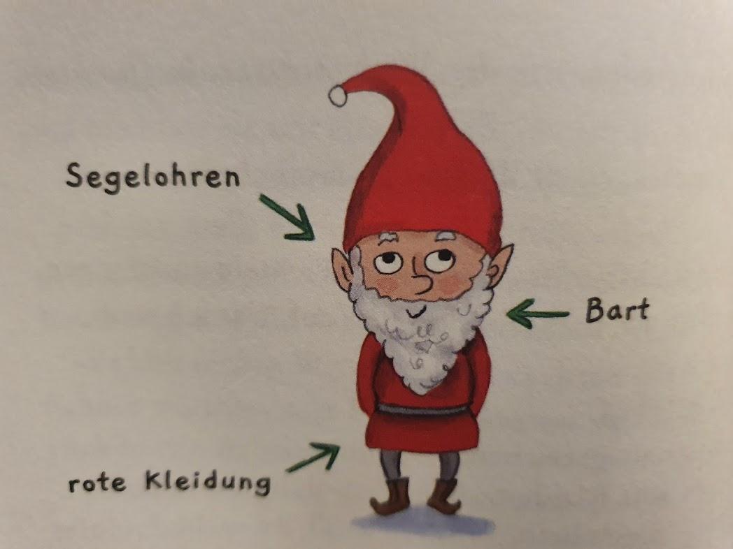 Wichtel im Buch Hilja und der Weihnachtszauber