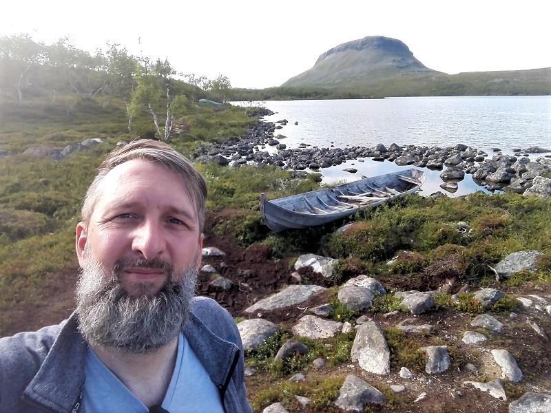 Markus in Kilpisjärvi am See Tshakajärvi