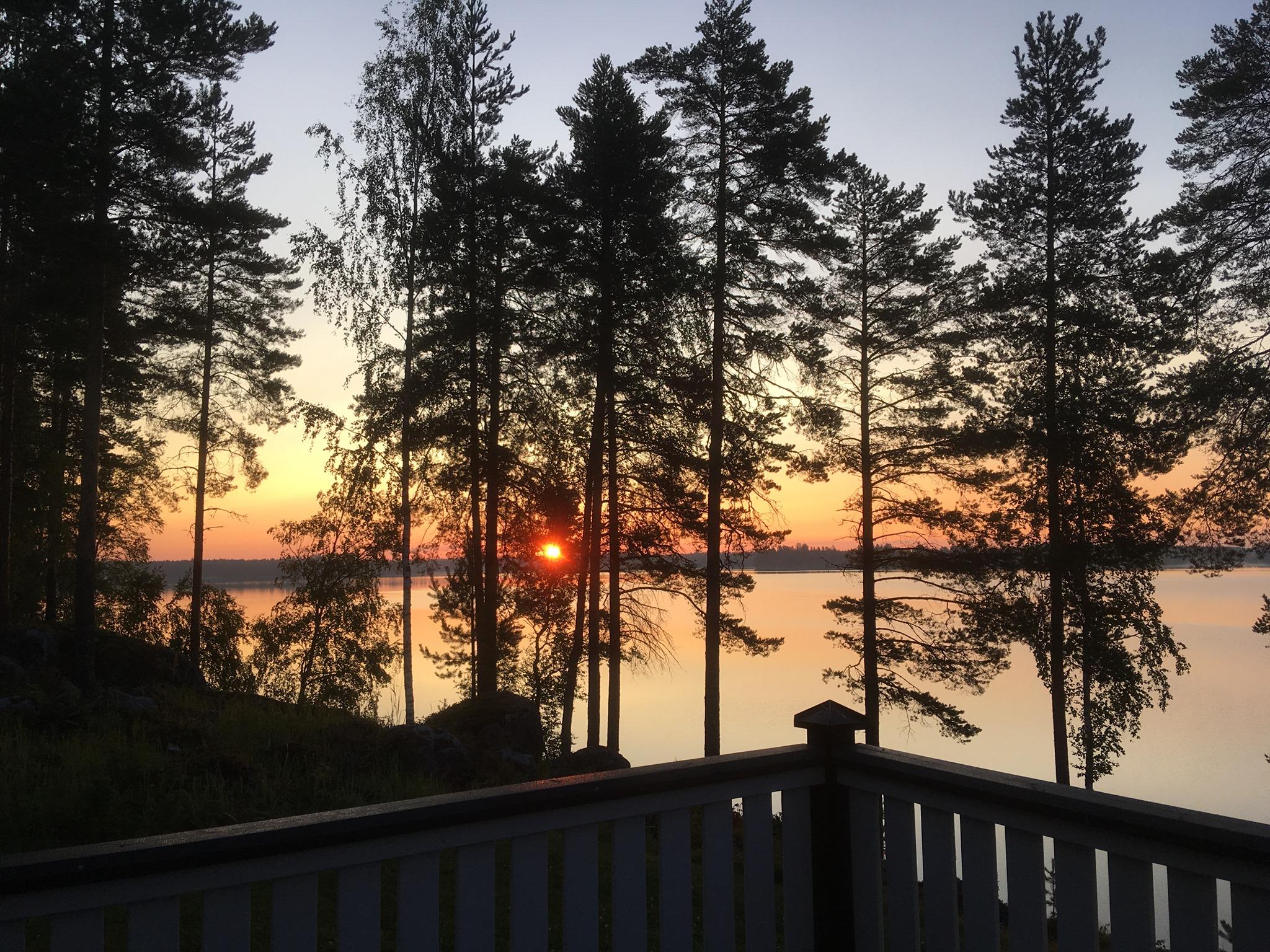 Sonnenaufgang in Pieksämäki