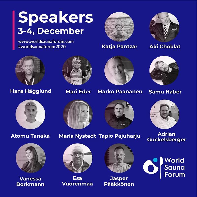 Speaker World Sauna Forum 2020