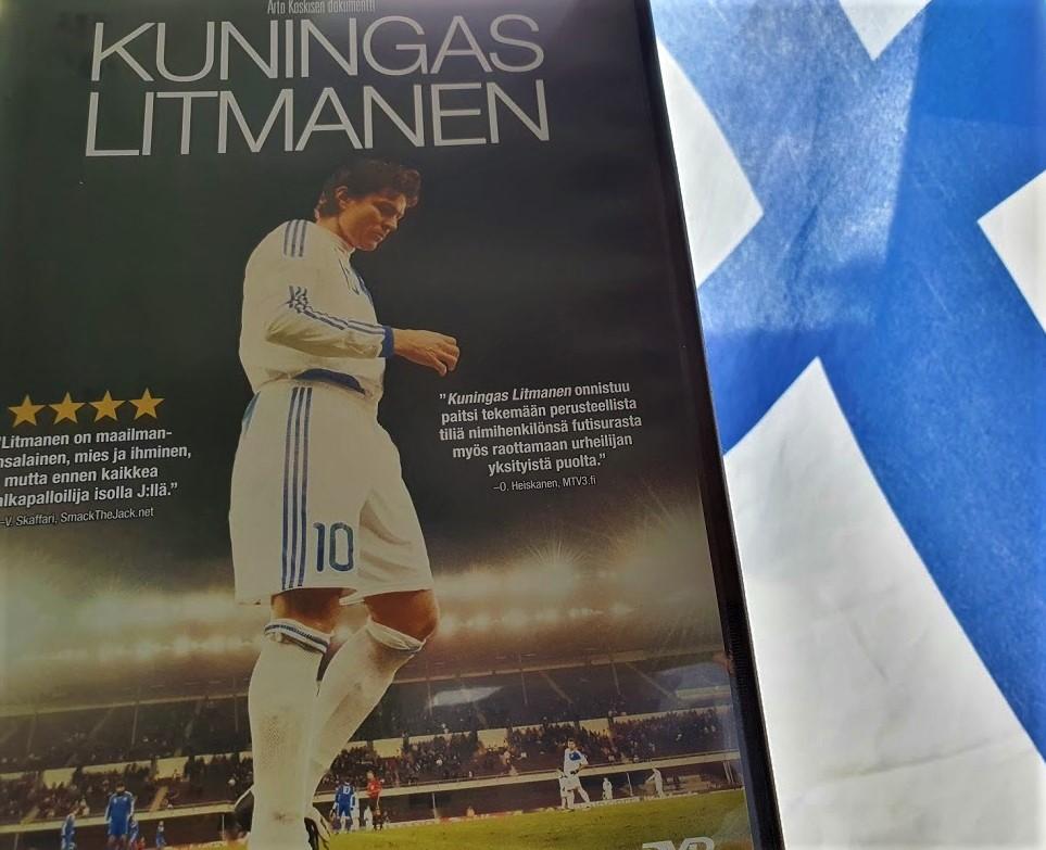 """DVD """"Kuningas Litmanen"""""""