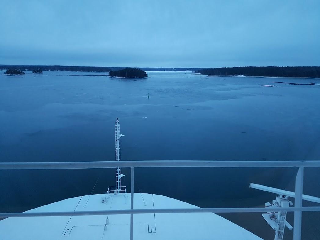 Finnlines Anfahrt auf Helsinki