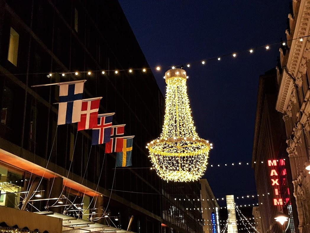 Lichterglanz in Helsinki