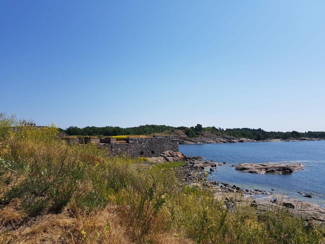 Insel Suomenlinna im Sommer