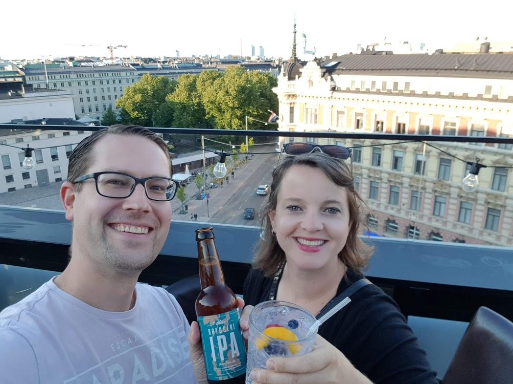 FinnTouch-Team in Helsinki