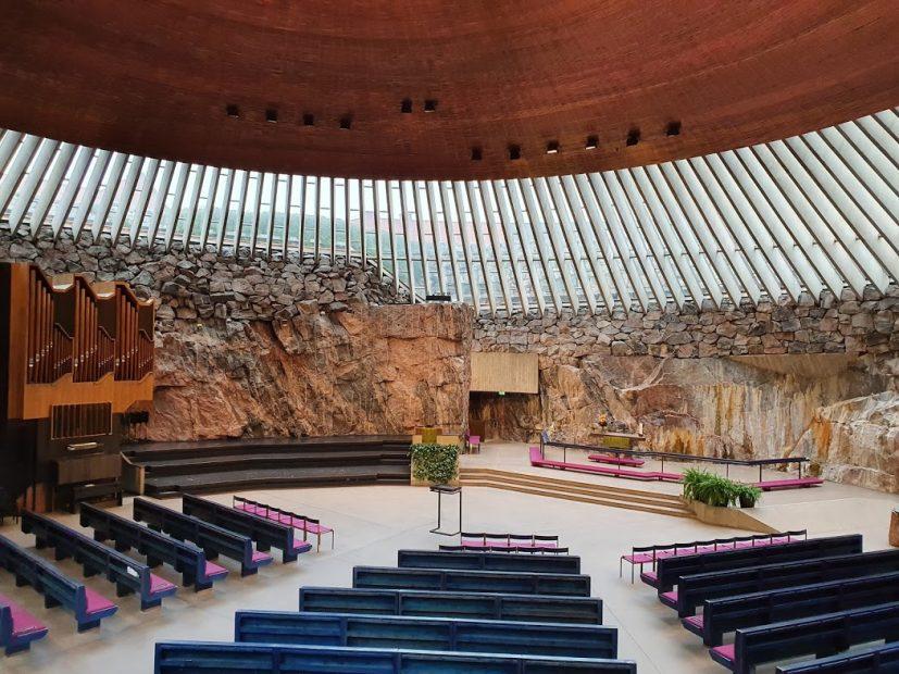 Felsenkirche Helsinki - Temppeliaukion kirkko