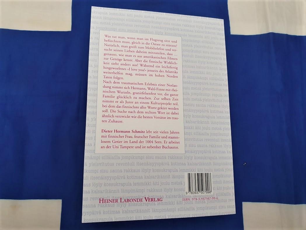 Dieter Hermann Schmitz - Finnisch verheiratet Buchcover Rückseite