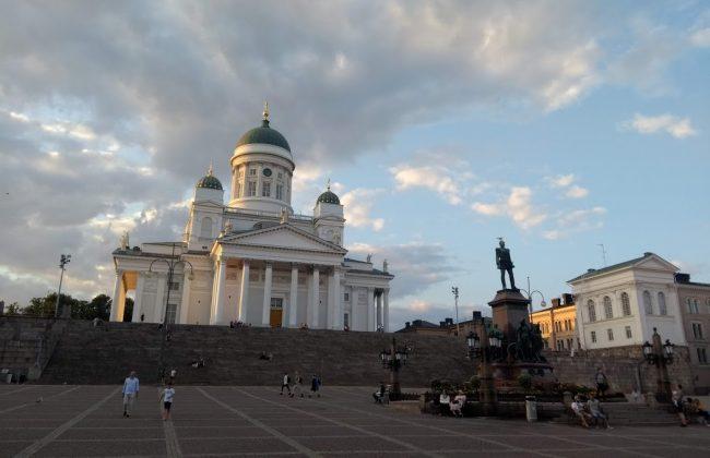 Der Dom von Helsinki - Helsingin tuomiokirkko