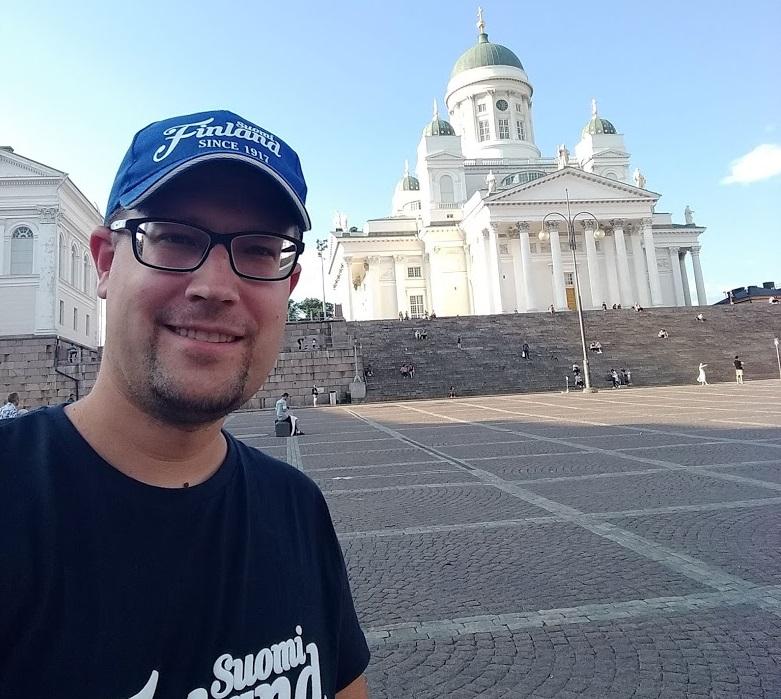 Dom-Selfie in Helsinki
