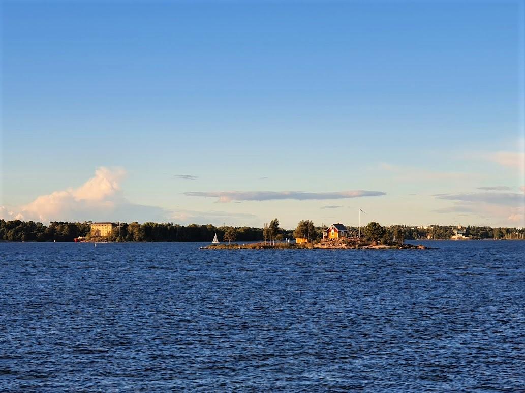 Die Insel Katajanokanluoto vor Helsinki