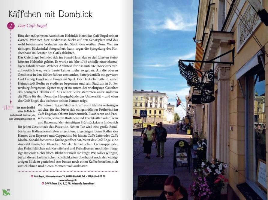 Einblick ins Buch Glücksorte in Helsinki