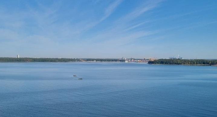 Ankunft in Helsinki