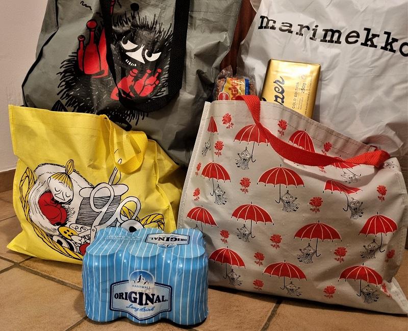 Einkäufe von der Finnlandreise